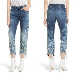 3x1 Higher Ground Bleached Ankle Jeans 25
